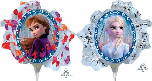 Frozen Mini Balloons Anna Elsa