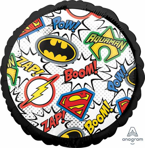 Justice League Superheroes Foil Balloon