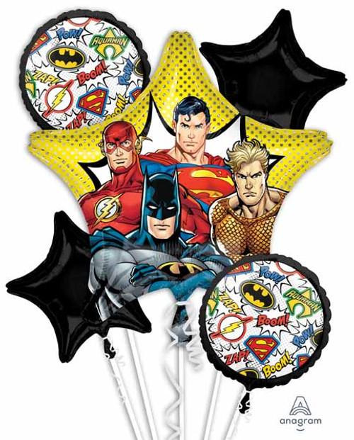 Justice League Balloons Birthday Superman Batman The Flash