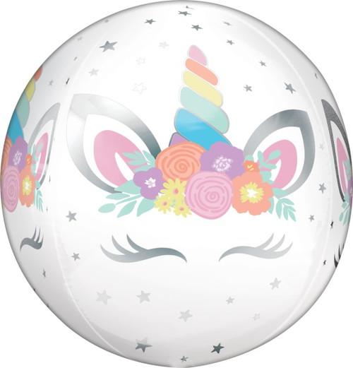 Strikingly Beautiful Unicorn Orbz Balloon