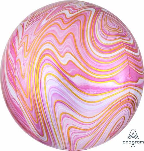 Pink Marble Orbz Panel Marblez