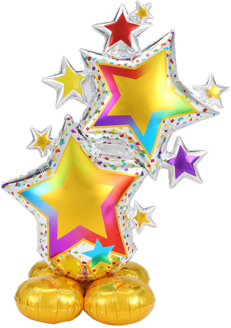 Jumbo Bright Colorful Airloonz Balloon Decoration