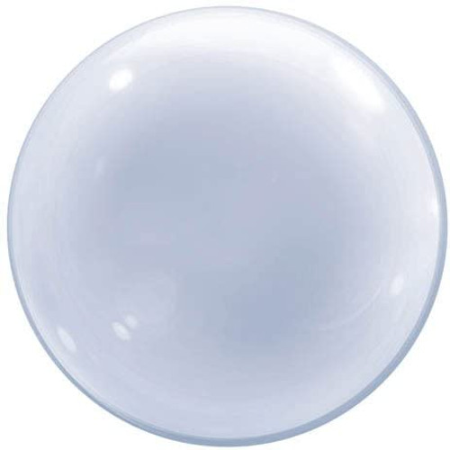 """Big 24"""" Clear Bubbles Balloon for Stuffing"""