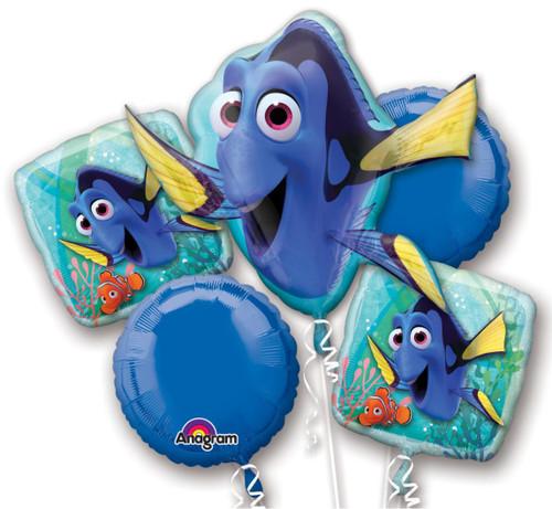 Anagram Finding Dory Nemo Birthday Balloon Bouquet 5 Mylars