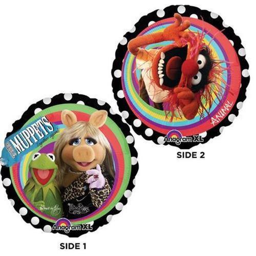 The Muppets Miss Piggy Kermit Animal Foil Balloon