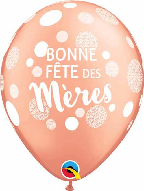 Ballon Bonne Fête des Mères Balloon French Mother's Day