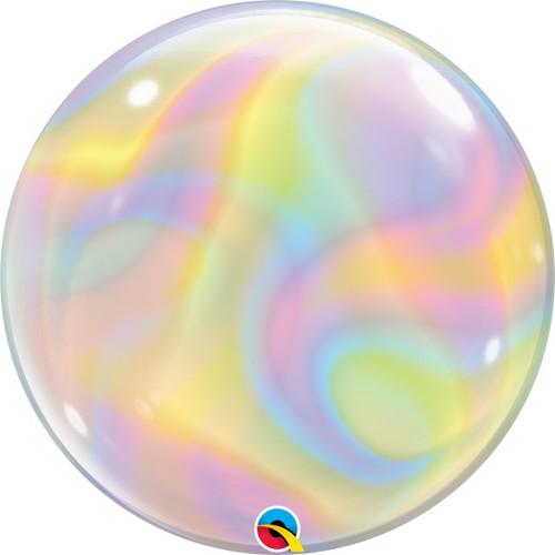 """22"""" Marble Swirls Bubble Balloon"""