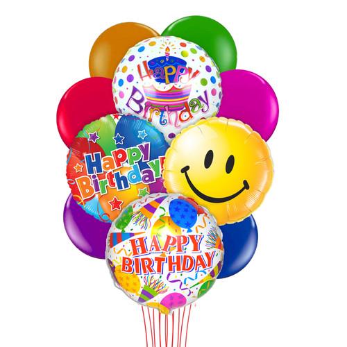 Happy Birthday Huge Balloon Bouquet