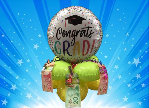 Congrats Grad Money Balloon