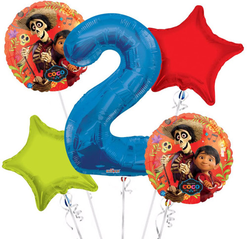 Hector from Coco Disney movie balloons Bouquet