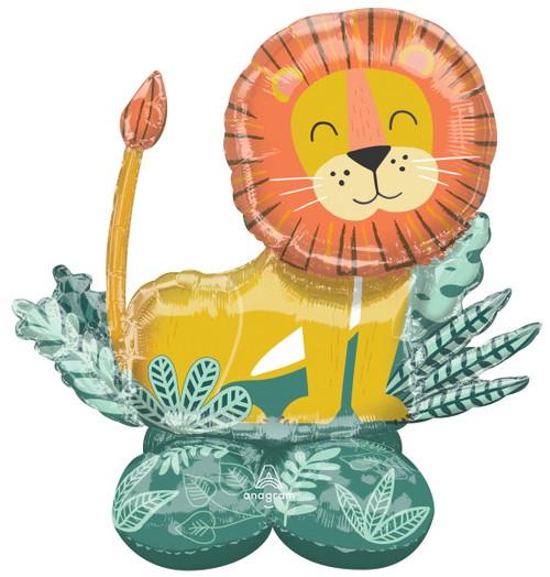 Jumbo Cuddly Lion Balloon Decoration Airloonz