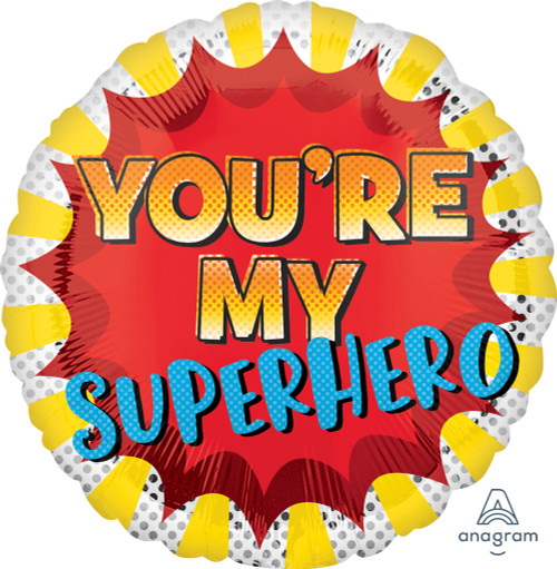 You're My Super Hero Balloon for Father's Day