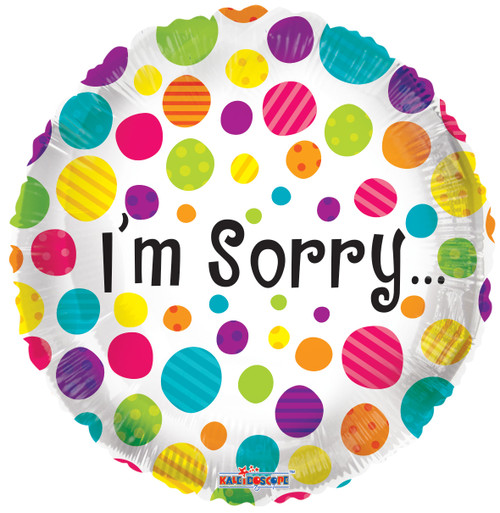 I'm sorry balloon for love