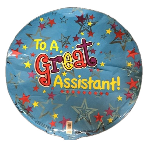 Balloon for a great assistant