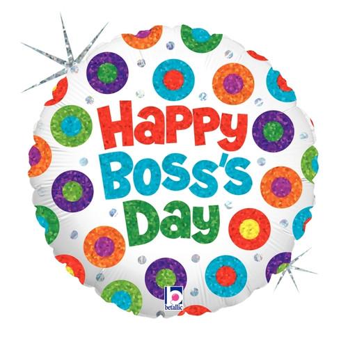 Great Boss Balloon Happy Boss Day Mylar