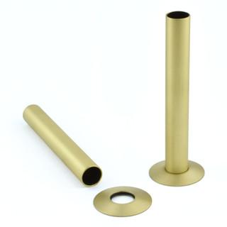 SLEEVE-130-BB - Brushed Brass Sleeving Kit 130mm (pair)