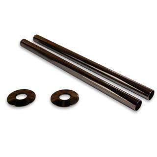 SLEEVE-300-BL - Black Nickel Sleeving Kit 300mm (pair)
