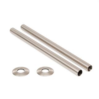 SLEEVE-300-SN - Satin Nickel Sleeving Kit 300mm (pair)