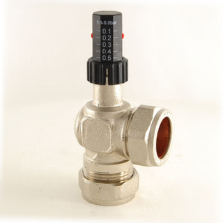 W-ABV - Evolve 22mm Central Heating Automatic Bypass Valve