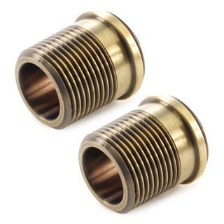 ABB-34-ADP-X2-OEB - 3/4 inch Radiator Coupler Adaptors - Old English Brass (Pair)