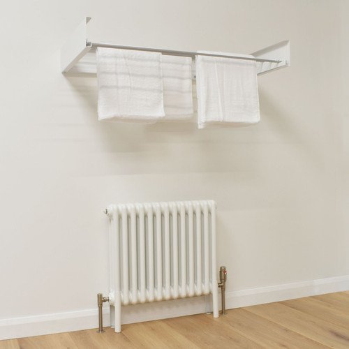TH-RACK-W-LS00 - Foldable Wall Mounted Towel Hanger - White