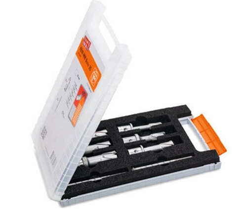 """FEIN 3/4"""" 25mm Weldon Core Drill Bit Set - 6 Piece (63134999061)"""