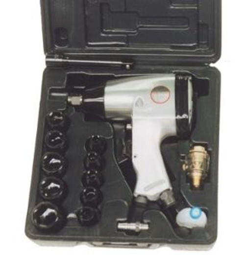 """WELLMADE 1/2"""" Air Impact Wrench Kit (W5061-K)"""