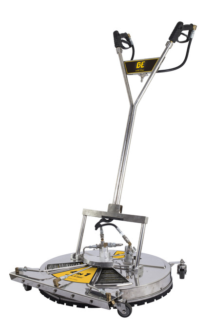 """30"""" 4-in-1 Surface Cleaner - Stainless w/wheels (125 BAR3000S0)"""