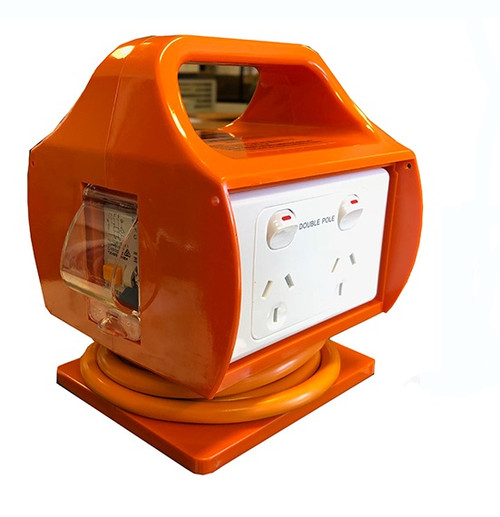 Power Box with RCD - 10 Amp - Approved PSOA - AS/NZS 3012 (165 MSG10-N-2)