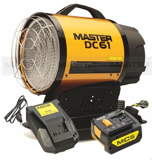 MASTER Hybrid Radiant Heater - Diesel 58000 BTU (17kW) (PIN DC61)