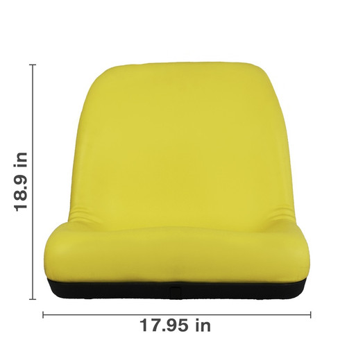 Deluxe Ultra High Back Yellow Seat (125 SEA-14010YBE)