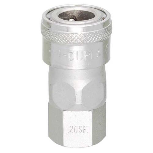 "Nitto Style Coupler x F 3/8"" BSP (C5/200) (COA 42.000.067SB 30SF-1)"