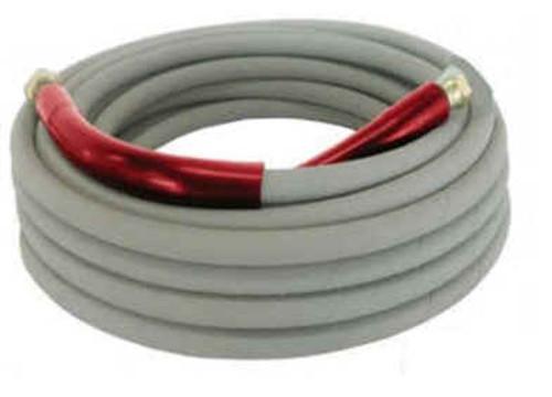 "3/8"" 30m High Pressure Washer Hose Grey (165 R1J400 30ML QC)"