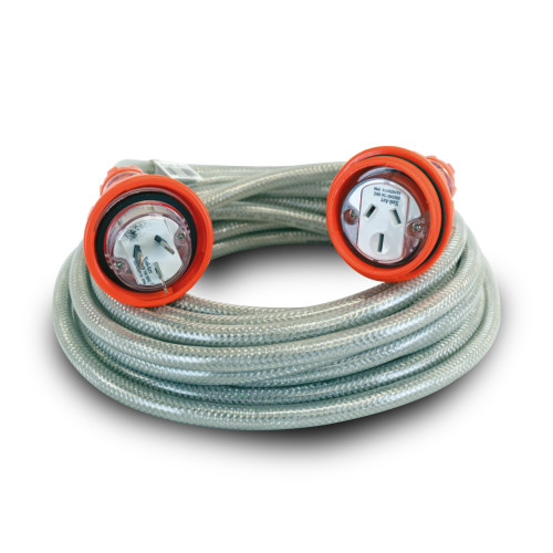 15 Amp Extension Leads Heavy Duty Construction Site Use 15m (XA-BEL15A-15M)