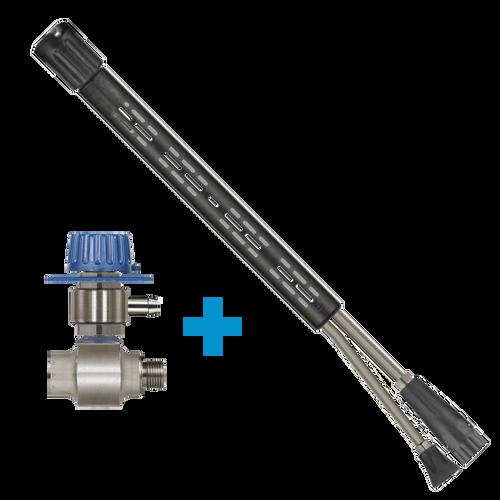 """Suttner ST-175 Foam and Clean Lance - 1/4"""" F & Foam Injector (148 200 175 400 / 148 200 160 515)"""