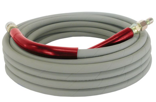 10m Hose - Grey 2 wire rated to 5800Psi (165 R2J400 10ML 3/8Mx3/8 Fs)