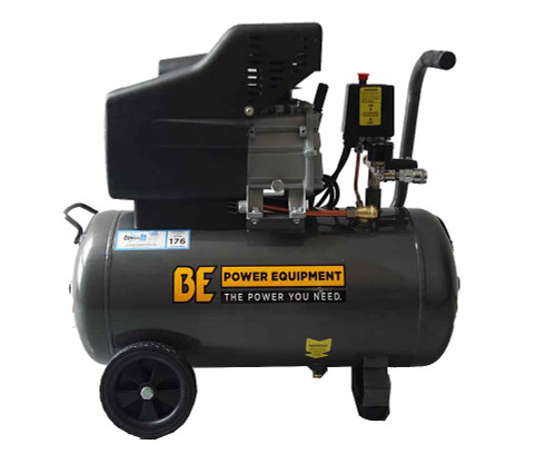 40 Litre Direct Drive Air Compressor - Single Cylinder Pump (COM E4025)