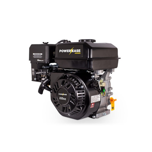 "Powerease 225cc 7Hp Petrol Engine 3/4"" Keyed Shaft - Electric Start (R225-REQ)"