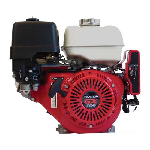 "Honda Engine GX390 13hp 3/4"" Keyed Shaft - Electric Start Quiet Version (GX390UT2QXE9)"