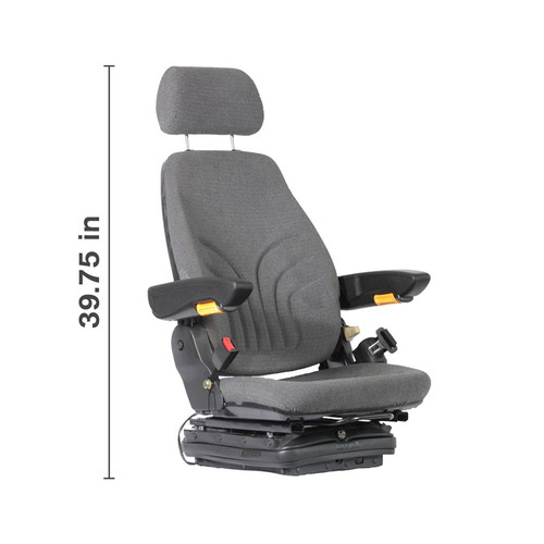 Agricultural Deluxe Cab Air Suspension Seat (SEA-18DCSBE)