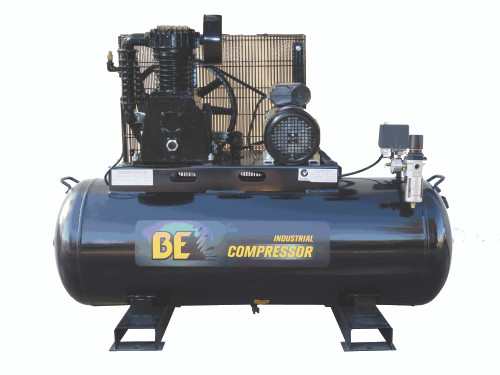 Industrial 160 Litre Belt Drive Air Compressor - 450L/min FAD 240V (COM 16035)