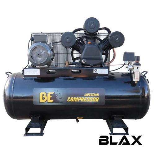 Industrial 160 Litre Belt Drive Air Compressor - 450L/min FAD 3-Phase 5.5Hp (COM E16055)
