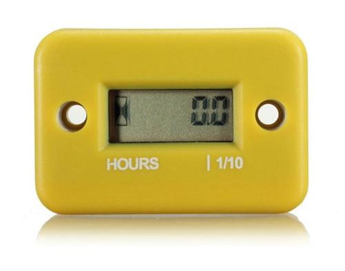 Waterproof Digital LCD Counter Hour Meter - Yellow (LCDHRM)
