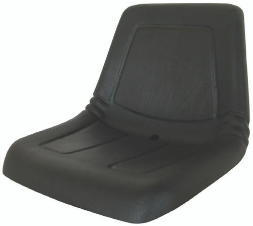 Deluxe High Back Lawn & Garden Seat - Black (SEA-800007)