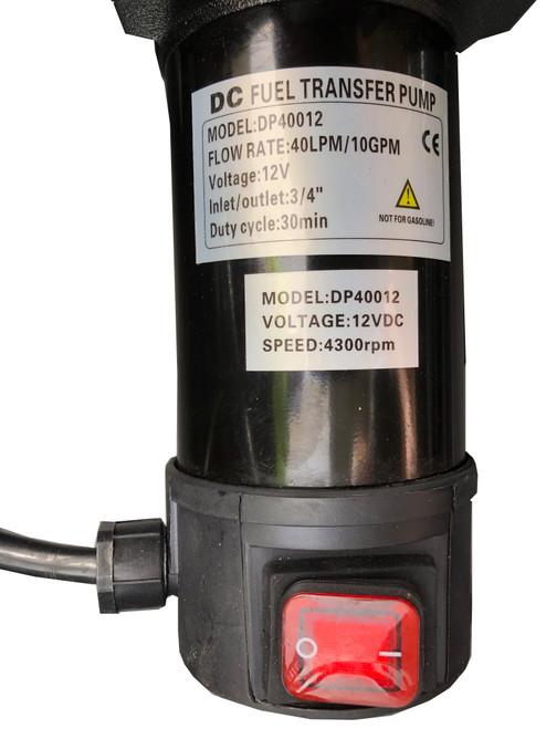 12V diesel pump 40Lt/m (DP40012E)