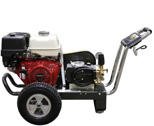 3000psi @ 21 Lt/m Belt Drive 13Hp Honda Professional Pressure Washer on Trolley (120 BAR3013PI-H)