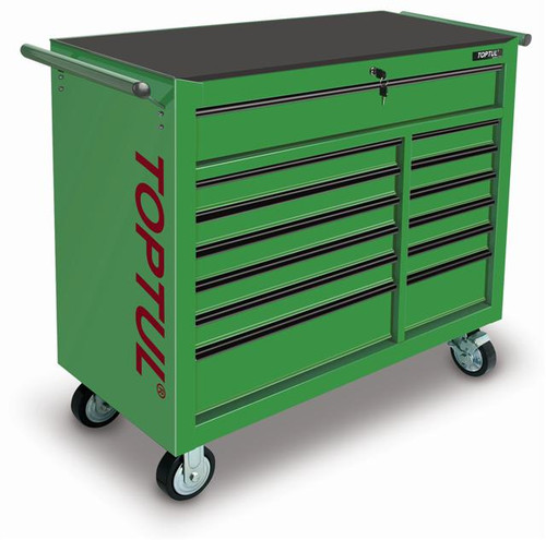 Toptul 13-Drawer Heavy Duty Roll Cabinet Work Station (TCBA1301)