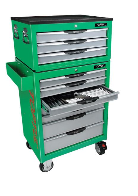 Toptul Complete Tool Kit Set Up (Green) with Bonus (TAAA1001K281 (Green))