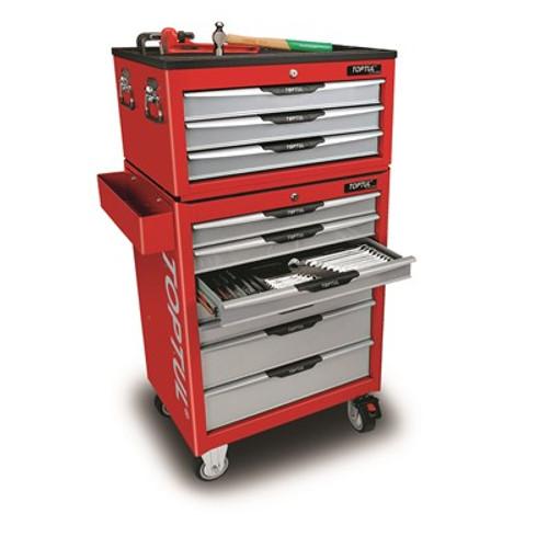 Toptul Complete Tool Kit Set Up (Red) with Bonus (TAAA1002K281 (Red))