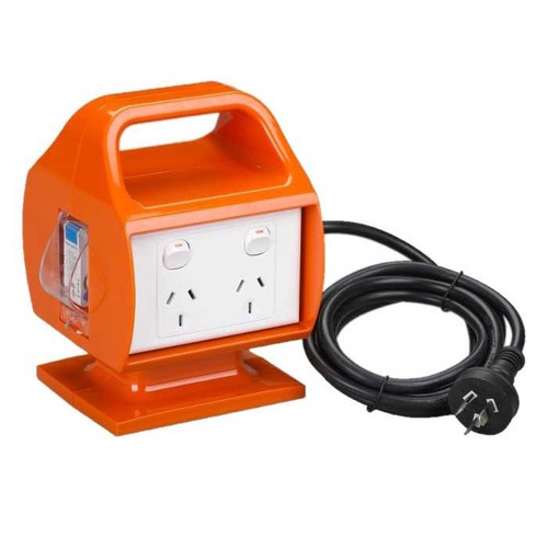 Power Box with RCD - 10 Amp (165 MSG10)